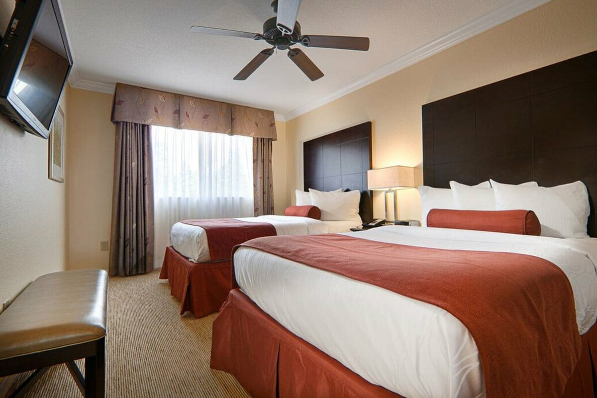 Saratoga Resort Villas Orlando Hotels 2 BR 2