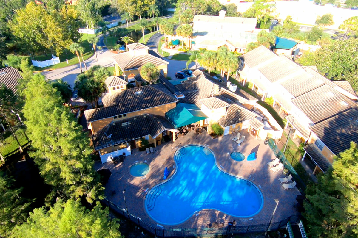 Saratoga Resort Villas Orlando Hotels High View