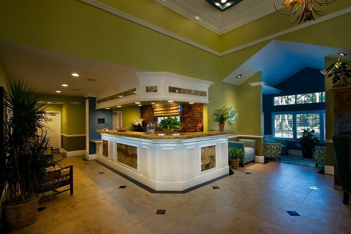 Saratoga Resort Villas Orlando Hotels Lobby