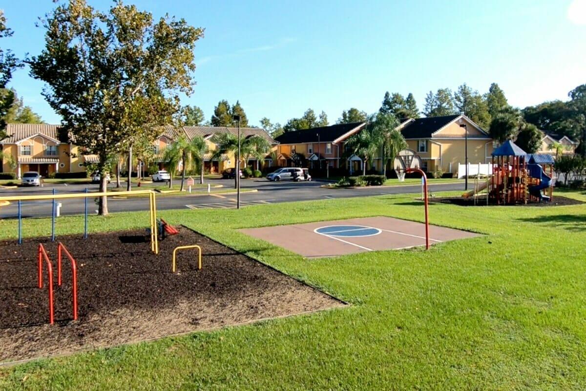 Saratoga Resort Villas Orlando Hotels Playgrounds