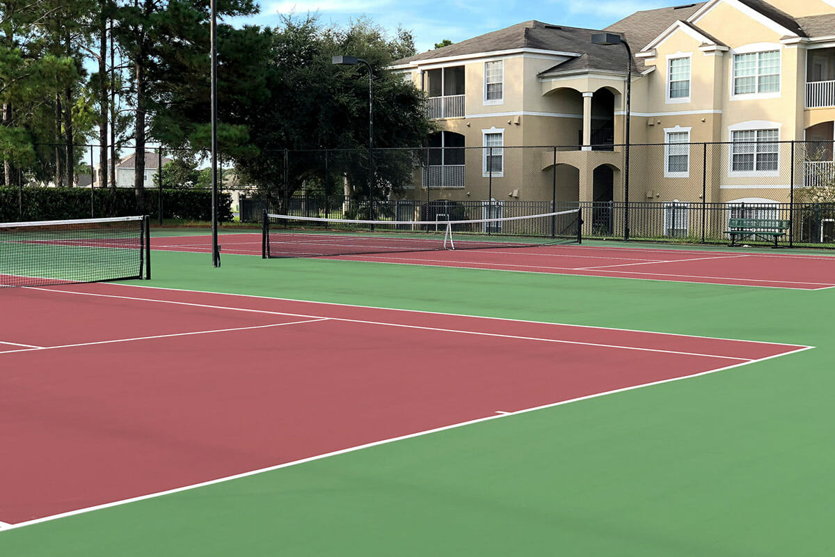 Windsor Palm Resort Vacation Home Tennis Court