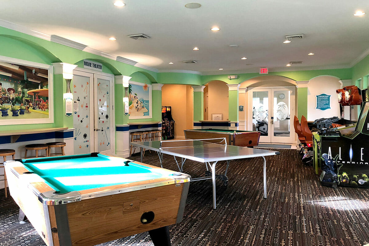 Windsor Palm Resort Vacation Home game Room