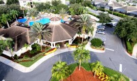 Windsor Palms Vacation Town Home Clubhous top View