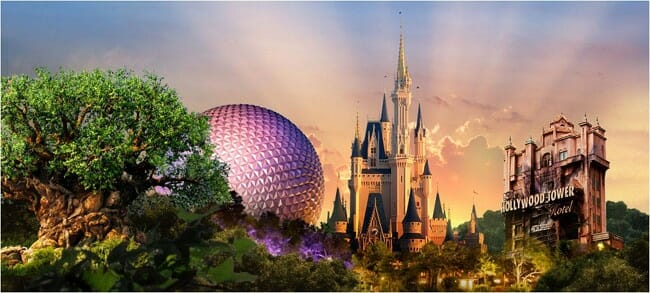 walt disney world parks