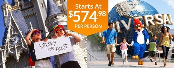 Five Day Orlando All You Can See Vacation Package