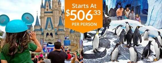 Five Day Orlando Land and Sea Vacation Package