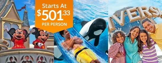 Four Day Orlando All You Can See Vacation Package