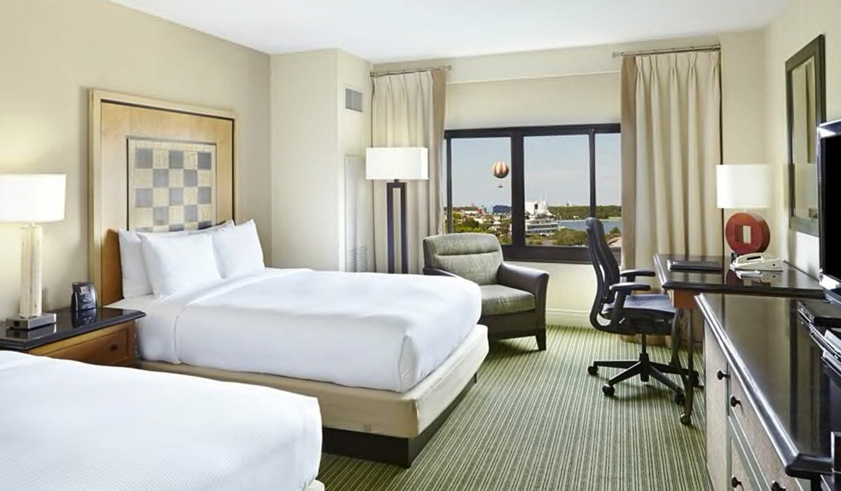 Hilton Lake Buena Vista Orlando Hotel Deluxe Room 2