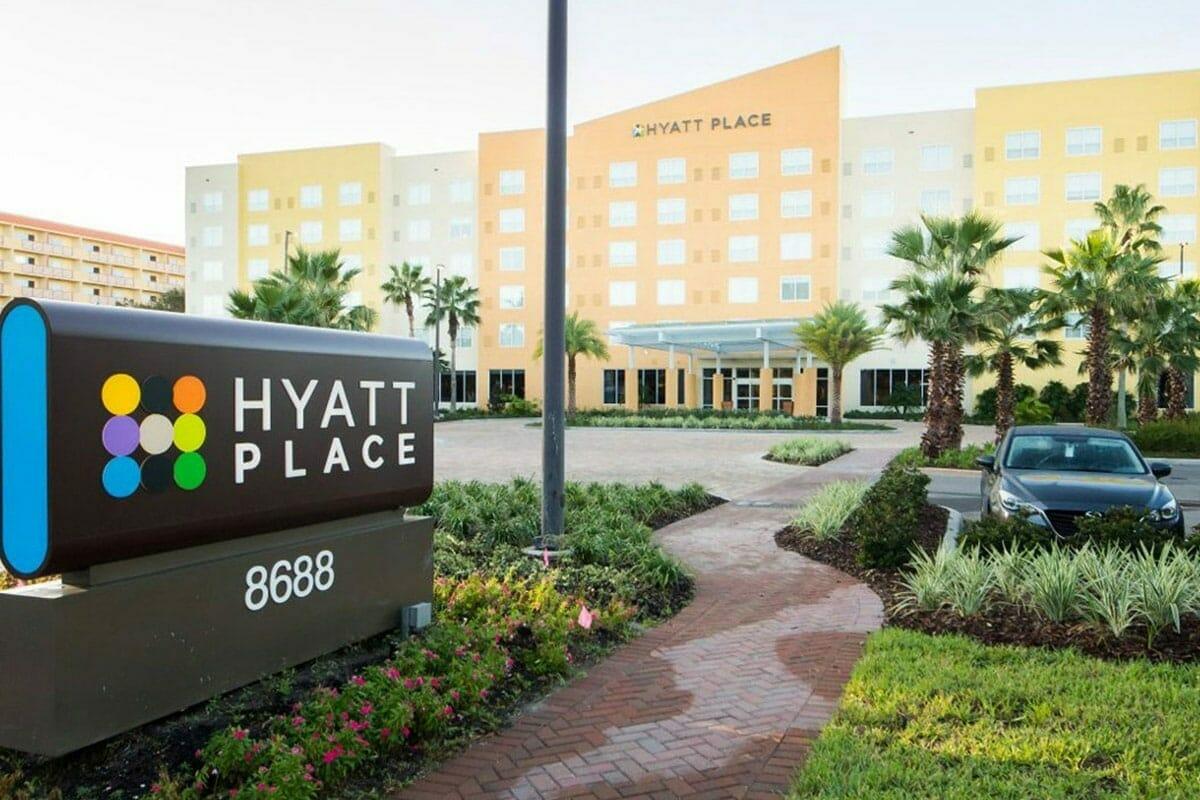 Hyatt Place Lake Buena Vista Orlando Hotel Front