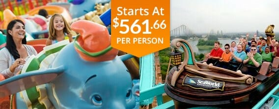 Six Day Orlando Land and Sea Vacation Package