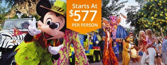 Six Day Walt Disney World Vacation Package