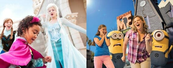 2 day disney world universal studios vacation package