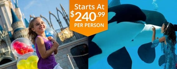 SeaWorld 2 Day Vacation Package