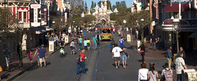 Small crowds at Walt Disney World