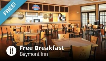 Free Breakfast at Baymont Inn - OrlandoVacation
