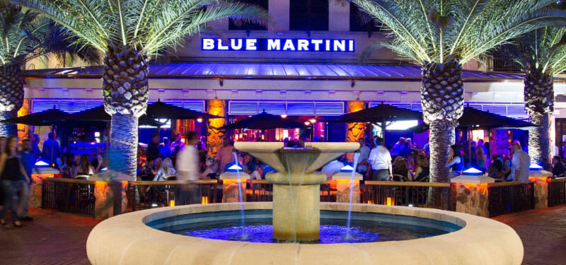 Blue Martini Bar Orlando