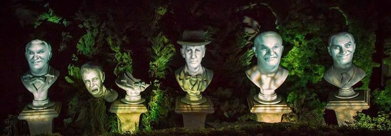 Grim Grinning Ghosts Haunted Mansion Disney World