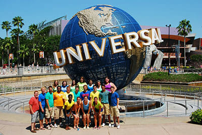 Group Trip To Universal Studios