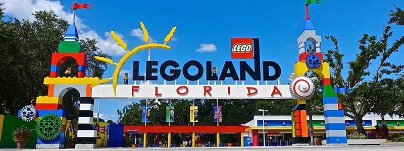 Legoland Florida smaller attraction
