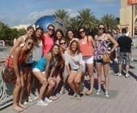 Spring Break Group Trip Universal Studios