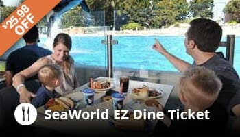 SeaWorld EZ Dining Ticket - OrlandoVacation