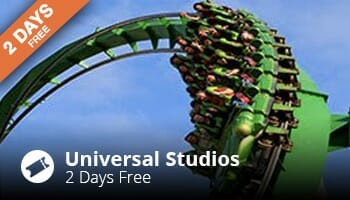 Two Days Free At Universal Studios