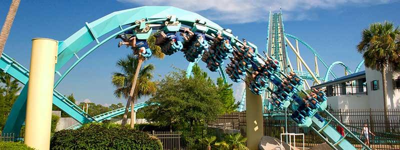 Kraken SeaWorld Orlando