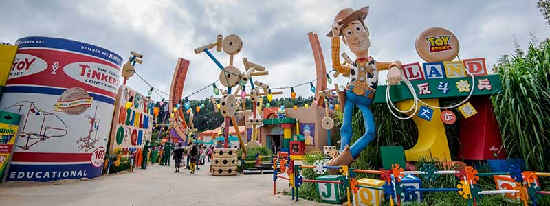 Toy Story Land New at Disney World
