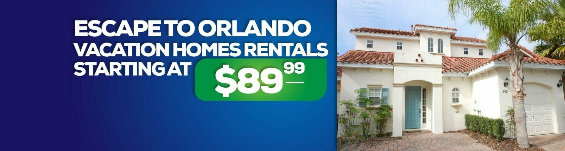 Orlando vacation homes rentals