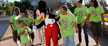 Walt Disney World Family Reunions