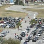 Parking at Daytona 500