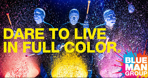 Blue Man Group - Orlando Group Vacation