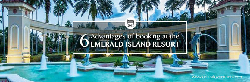 6 Advantages of booking at the Emerald Island Resort