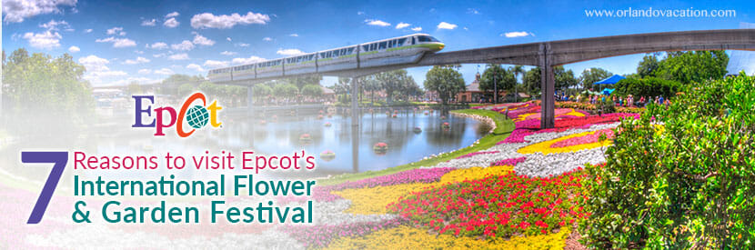 7 Reasons to visit Epcot's International Flower & Garden Festival in 2018