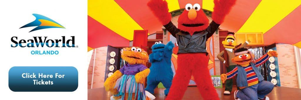 SeaWorld - Elmo & Friends Tickets