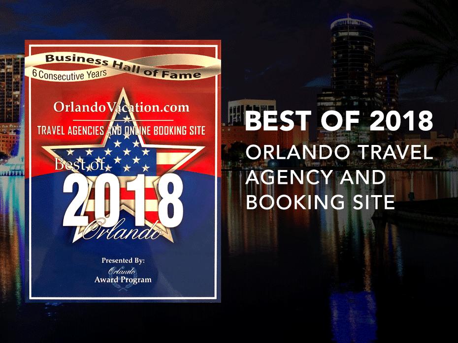 2018 Business Award - Orlando Vacation