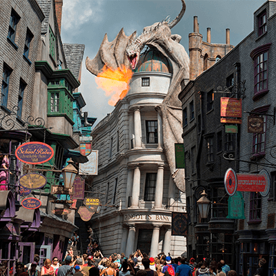 Dragon Store - Wizarding World of Harry Potter - Orlando Vacation