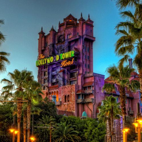 Hollywood Studios tower - Orlando Vacation