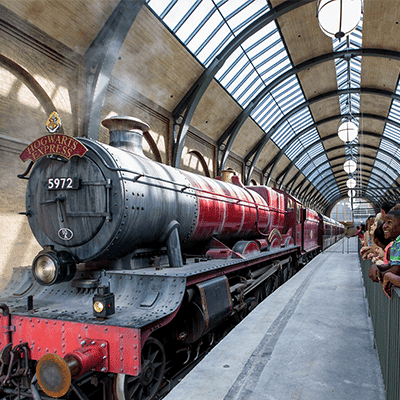 Hougwarts Express - Wizarding World of Harry Potter = Orlando Vacation