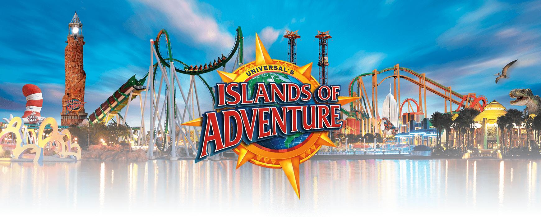 Islands of Adventure Cover - Orlando Vacation