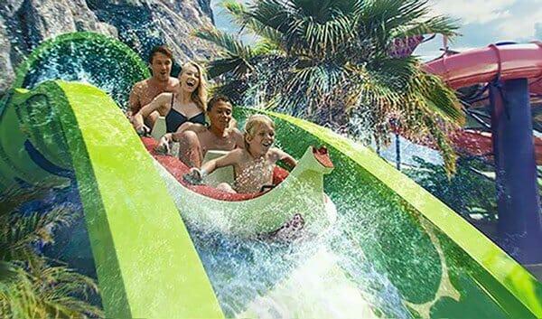 Krakatau Aqua Coaster volcano bay - Orlando vacation