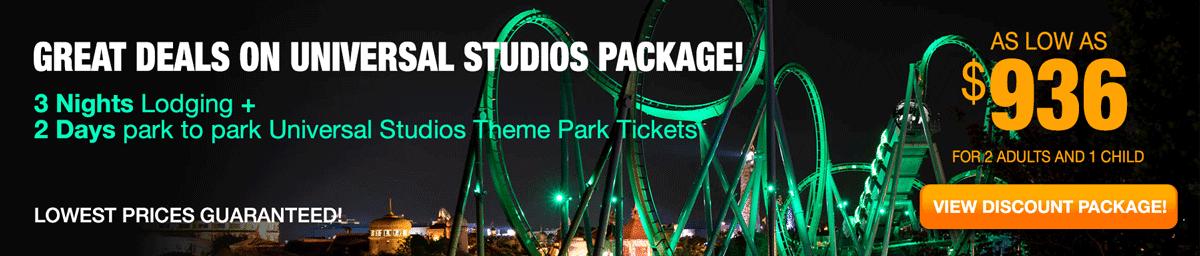 Universal Studios Package Deals-OrlandoVacation.com