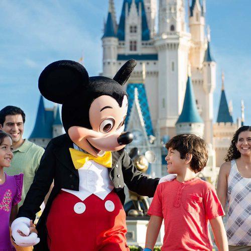 Family mickey Magic Kingdom-Disney World