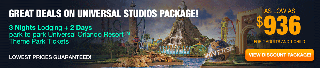Deals Universal Studios - Orlando Vacation
