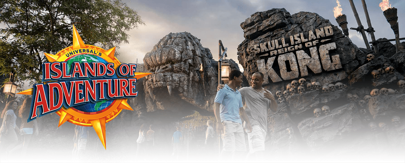 Islands of Adventure Cover - Orlando Vacation