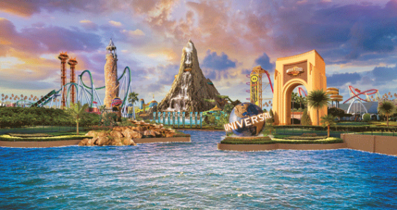 Destination Scope with Volcano Bay - Orlando vacation