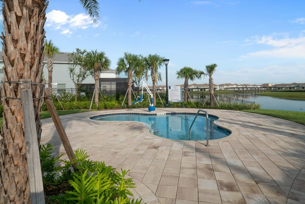 Storey Lake Orlando Vacation Home Community Pool 2