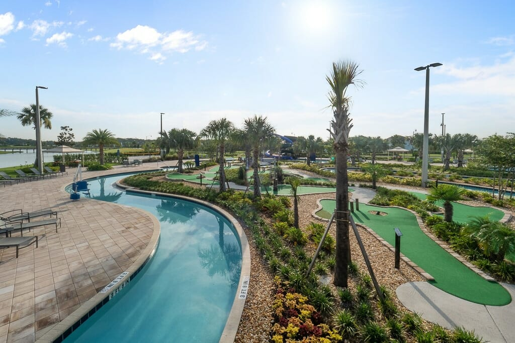 Storey Lake Orlando Vacation Home Community River Pool and Mini Golf