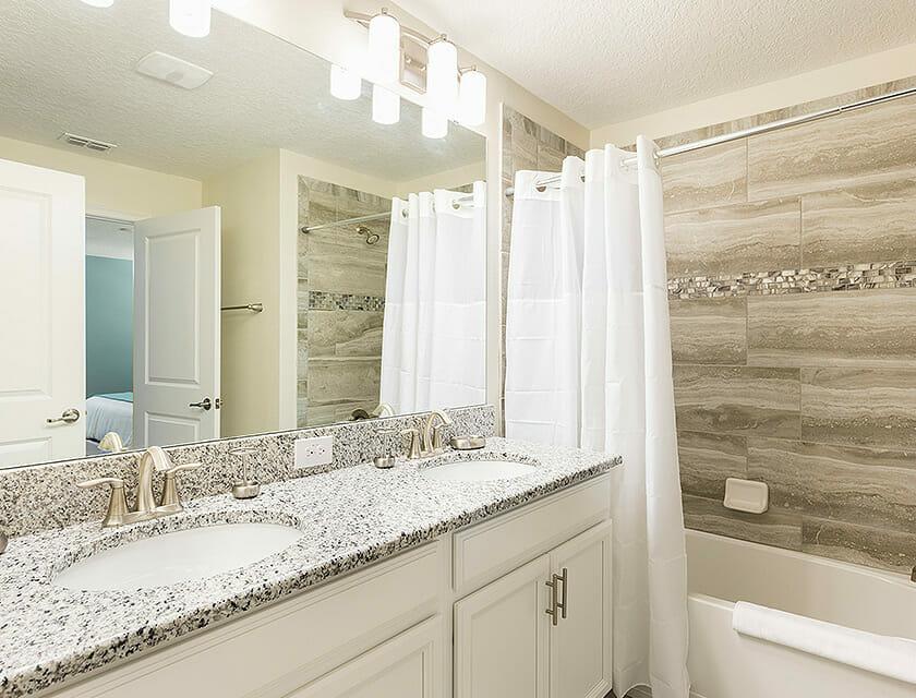 ChampionsGate Oasis Condos in Orlando Bathroom - OrlandoVacation