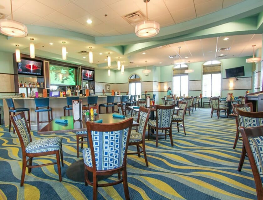 ChampionsGate Oasis Condos in Orlando Club House Rest and Bar - OrlandoVacation